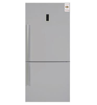 מקרר 2 דלתות מקפיא תחתון נפח 554 ליטר נטו No Frost גימור נירוסטה תוצרת Blomberg דגם KND3954XP