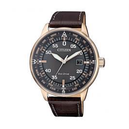 שעון יד סולארי לגבר בעיצוב שעון טייסים מבית CITIZEN דגם CI-BM739316H