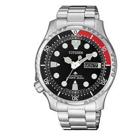שעון צלילה אוטומטי לגבר עד 200M עם פלדת אל חלד  חזקה ועמידה לאורך שנים