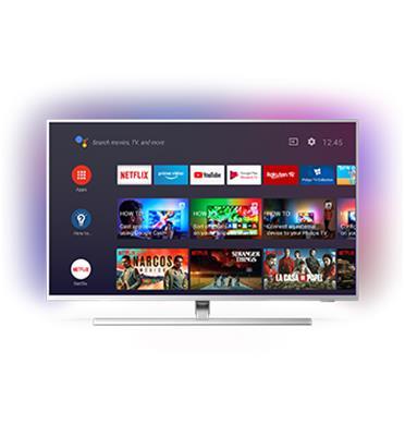 טלוויזיה 65 4K UHD LED Android TV ותאורת Ambilight תוצרת PHILIPS דגם 65PUS8505