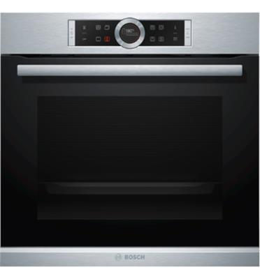 תנור אפיה בנוי תוצרת גרמניה בגימור נירוסטה BOSCH דגם HBG635BS1