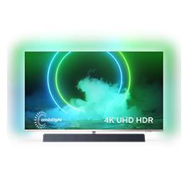 טלוויזיה 55 מסגרת דקה 4K UHD Android TV תוצרת PHILIPS דגם 55PUS9435