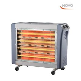 תנור חימום בעל 4 גופי חימום 2400W תוצרת NOVO דגם NOV 3100