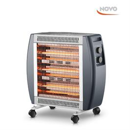 תנור חימום בעל 4 גופי חימום 1800W דגם NOV 2900 תוצרת NOVO