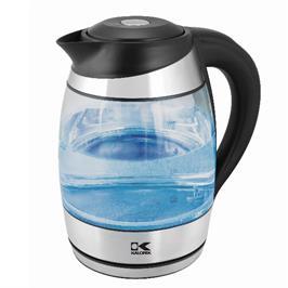 קומקום זכוכית 1.8 ליטר עם בקר טמפרטורה מבית Kalorik דגם JK 42656 BK