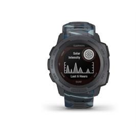 שעון GPS מוקשח Instinct Solar surf edition תוצרת garmin דגם 010-02293-07H