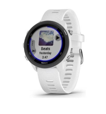שעון ריצה עם GPS מובנה תוצרת garmin דגם Forerunner 245 Music