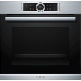 תנור אפיה בנוי 71 ליטר 13 תכניות נירוסטה Serie 8 תוצרת BOSCH דגם HBG675BS2