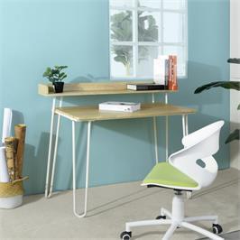 שולחן מחשב דגם אייסר מבית HOMAX בשני צבעים לבחירה