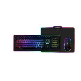 ערכת קומבו גיימינג מקצועית ומיוחדת למחשב תוצרת DRAGON דגם GPDRA-PCK-RGB