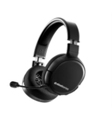 אוזניות עם מיקרופון שמסנן את הרעשים תוצרת SteelSeries דגם Arctis1