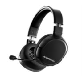 אוזניות גיימינג מתאימות לכל פלטפורמות המשחק תוצרת SteelSeries דגם Arctis 1 Wireless