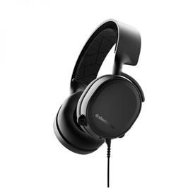 אוזניות גיימרים מעוצבות וחכמות תוצרת SteelSeries דגם Arctis 3 צבעים לבחירה