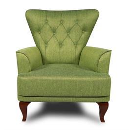 כורסא יוקרתי מעוצבת מרופדת במגוון צבעים תוצרת BRADEX דגם JOY