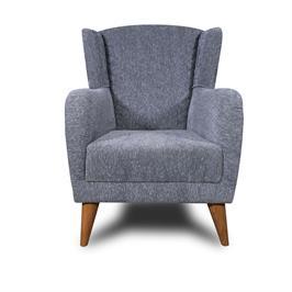 כורסא מעוצבת  במגוון צבעים תוצרת BRADEX דגם CAMPER