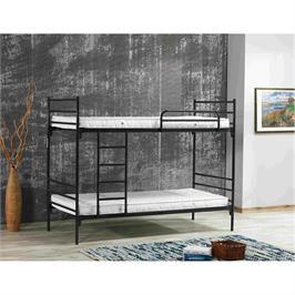 מיטת קומותיים  ממתכת חזקה ויציבה מאוד  ממתכת במגוון צבעים תוצרת BRADEX דגם VOLARE
