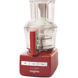 מעבד מזון מקצועי 650 וואט תוצרת MAGIMIX דגם CS-3200RXLD בצבע אדום