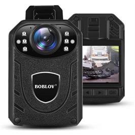 מצלמת גוף מקצועית KJ21 1296P FULL HD עם ראיית לילה