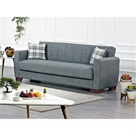 ספה נפתחת למיטה עם ארגז מצעים במגוון צבעים תוצרת Bradex דגם FAMUS