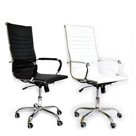 כסא מנהל אורטופדי עם מנגנון מולטי לוק נוח ואיכותי דמוי עור יוקרתי מבית ROSSO ITALY דגם MSH-1-20