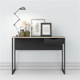 שולחן כתיבה עם מגירה ורגלי ברזל תוצרת דנמרק HOME DECOR דגם קולין