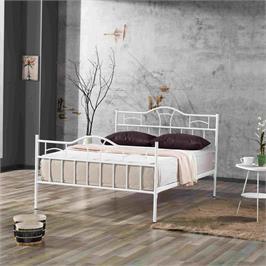 """מיטה ברוחב וחצי  ממתכת למזרן 120*190 ס""""מ תוצרת Bradex דגם DION"""