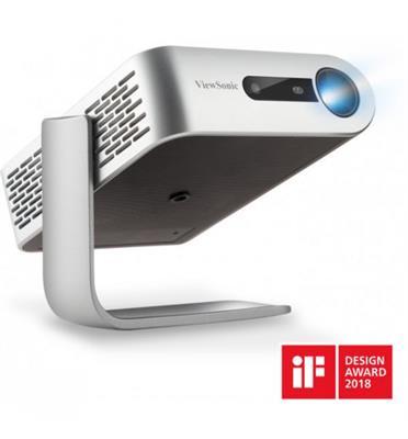 מקרן לד נייד במיוחד המספק הקרנה נוחה בכל מקום תוצרת ViewSonic דגם  M1+ LED WVGA