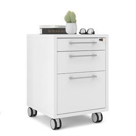 שידת מגירות למשרד עם גלגלים תוצרת דנמרק HOME DECOR דגם רובין