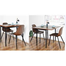 שולחן אוכל קומפקטי נפתח מבית Homax דגם קלינטון