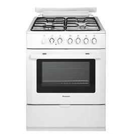 תנור אפיה משולב כיריים גז בנפח 69 ליטר Normande דגם ND-6262W