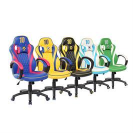 כיסא גיימרים ארגונומי ובטיחותי כולל כרית תמיכת צוואר SPIDER GOAL