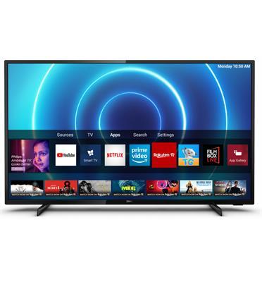 """טלוויזיה """"43 4K UHD LED smart TV תוצרת PHILIPS דגם 43PUS7505"""