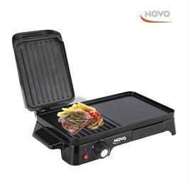 פלנצ'ה גריל חשמלי לברביקיו תוצרת NOVO דגם NOV 101