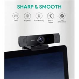 מצלמת רשת FHD מבית AUKEY מדגם LM1E