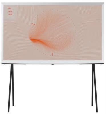 טלוויזיה 49 עיצוב Serif לבן QLED 4K SMART TV תוצרת SAMSUNG דגם 49LS01T