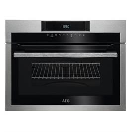 תנור מיקרוגל בילד אין משולב גריל בנפח 46 ליטר תוצרת AEG דגם KME721000M