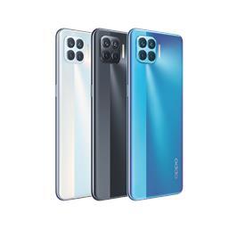 סמארטפון חדש בישראל 6.43 אינץ' 6 מצלמות זיכרון חיצוני 128GB זיכרון פנימי 8GB מבית Oppo דגם A93 כיסוי סיליקון מתנה!