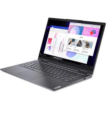 מחשב נייד מסך מגע 14 + עט אינטש מבית Lenovo דגם 82BH006PIV i7-1165G7 1TB SSD 16GB Yoga 7