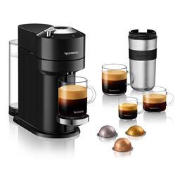 מכונת קפה VertuoNext מבית NESPRESSO דגם GCV1 בגוון שחור