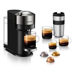 מכונת קפה VertuoNext מבית NESPRESSO דגם GCV1 בגוון כרום