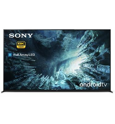 טלוויזייה 75 8K UHD Full Array led backlight Android TV 9.0  Pie תוצרת SONY דגם KD-75ZH8BAEP