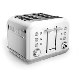 מצנם חשמלי 4 פרוסות ACCENTS white תוצרת MORPHY RICHARDS דגם 242032