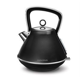 קומקום חשמלי שחור 1.5 ליטר evoke תוצרת Morphy Richards דגם 100105