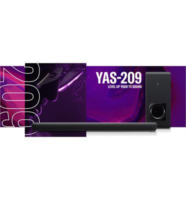 סאונד-בר מעוצב מבית YAMAHA דגם YAS-209