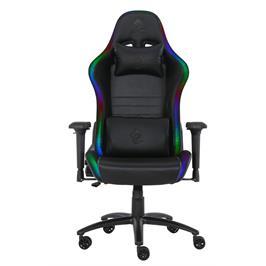 כיסא גיימינג חדשני עם תאורת RGB מבית DRAGON דגם SPACE PLUS + שלט
