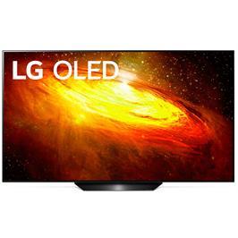 טלוויזיה 65 אינץ' בטכנולוגיית OLED, ברזולוציית 4K Ultra HD עם ניגודיות אינסופית, HDR ובינה מלאכותית  LG דגם OLED 65BX