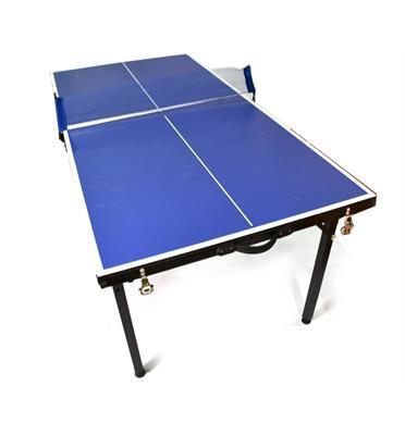 """מיני שולחן פינג פונג טניס שולחן מתקפל למזוודה 153 ס""""מ מבית ROSSO ITALY דגם MSH-1-48"""