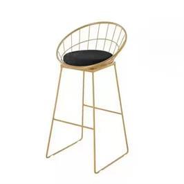 זוג כסאות בר מודרניים הסדרה היוקרתית מבית ROSSO ITALY דגם MSH-1-54