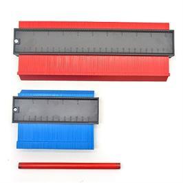 """סרגל חכם מארז שני סרגלים בגודל 5 אינץ' (13 ס""""מ) ו-10 אינץ' (26 ס""""מ) למדידת מבית TELESCOPIC"""