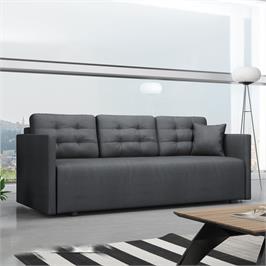 ספה אירופאית מעוצבת נפתחת למיטה זוגית עם ארגז מצעים HOME DECOR דגם לוקה